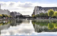 Paris, Quai de l'Oise, Quai de la Marne, Quai de la Gironde, Canal de l'Ourcq, Île de France,