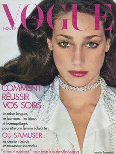 Marisa Berenson par Helmut Newton Vogue Paris novembre 1973