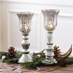 Windlicht 2er Set Lucie #loberon #christmas #Xmas #Weihnachten