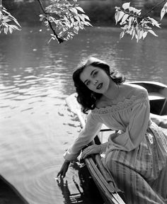 .: An all-time most-coveted blouse | Debra Paget :.