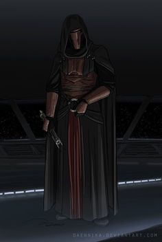Darth Revan from Star Wars Knights of the Old Republic. Star Wars Darth Revan, Darth Bane, Star Wars Sith, Star Wars Droids, Darth Nihilus, Star Wars Kotor, Star Wars The Old, Star Wars Facts, Star Wars Outfits