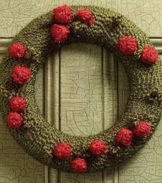 Yarn-Wrapped Wreath at Joann.com