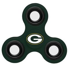 Green Bay Packers NFL Three Way Team Spinner - These Team Fidget Diztracto Spinners are Hand Held spinners That Will Keep Your Restless Fingers Busy. These officially licensed spinners are perfect for people who can't keep their fingers still. Packers Gear, Nfl Packers, Green Bay Packers Fans, Nfl Green Bay, Cool Fidget Spinners, Pro Football Teams, Nfl Gear, Spinner Toy, Hand Spinner