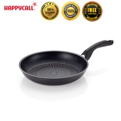 """Happycall Nonstick Plasma Induction Titanium 12.6"""" Best Frying Pan Culinary tool #Happycall"""