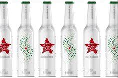 Heineken 140th anniversary bottle