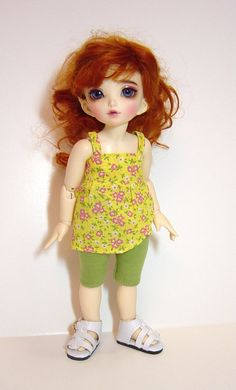 LTF/LittleFee/YOSD Ball Jointed Doll Yellow by EnchantedDaydreams, $18.00