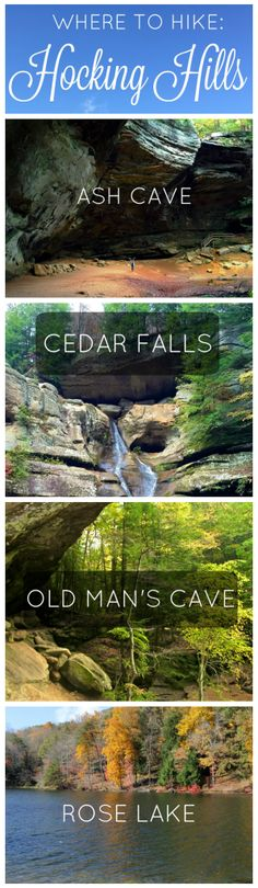 Where to Hike in Hocking Hills - girl about columbus