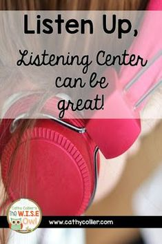 Listening Center is one of those centers I used to hate, but with a little adjustments, it's now one of my favorites. 1 book a month; Reading Comprehension, Classroom Management, Literacy, Blog Title, Canning, Writing, Owl, Posts, Technology