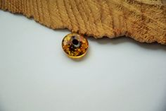 Genuine Baltic amber donut, Amber pendant, cognac amber, dark amber, 18 mm donut, Rare amber, 琥珀 by AmberGiftLT on Etsy