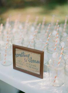 mason jars with straws | Dave Lapham
