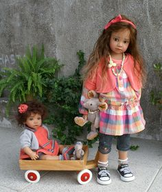 CATHLEEN und bebè CHERIE
