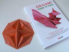 Origami: Stella in ottagono 2, designed and folded by Francesco Guarnieri. Book, Origami made in Italy, NuiNui