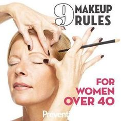 9 Makeup Rules For Women Over 40