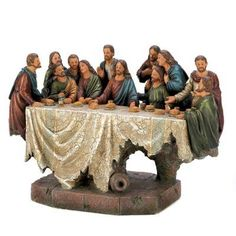 LAST SUPPER SCULPTURE Free Shipping!