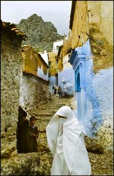Chechaouen,Morocco by Bruno Barbey,1972