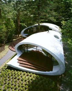 """Shell House"" by architect Kotaro Ide"