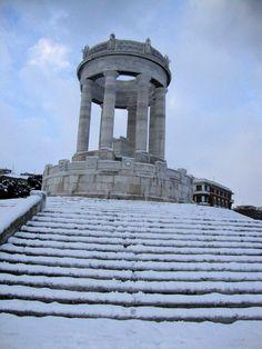 neve Ancona Italy, Snow, Building, Travel, Walking, Viajes, Buildings, Destinations, Traveling