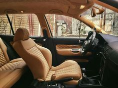 Custom Golf Mk4 interior