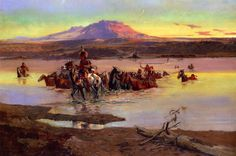 Charles Marion Russell  http://www.the-athenaeum.org/art/display_image.php?id=96007