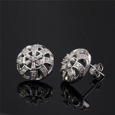 Fashion stud earrings. Star Harvest silver jewelry