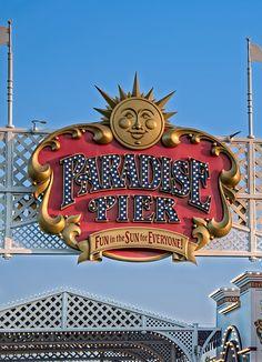 Paradise Pier - Disney's California Adventure