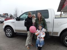 Congratulations to the Allen's on their purchase of a new Ford F150! We really appreciate the opportunity to earn your business, and hope you enjoy your new truck!