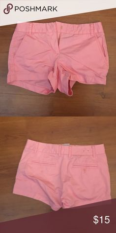 Jcrew 3' shorts Bubble gum pink shorts ! J. Crew Shorts
