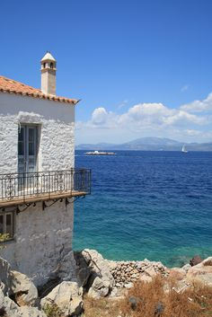 fisherman's house on Kaminia harbour - Hydra - best day of my life! Greece