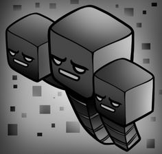 How to Draw a Minecraft Wither, Withers, Step by Step, Video Game Characters, Pop Culture, FREE Online Drawing Tutorial, Added by Dawn, March 26, 2013, 3:58:58 pm