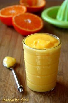 Crème de mandarine sans beurre