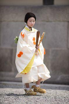"Aoi Matsuri, at the Kyoto Imperial Palace Park (""Kyoto Gosho"") (葵祭、京都御所)"
