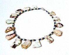 Chunky jasper statement necklace  jasper by sparklecityjewelry, $95.00