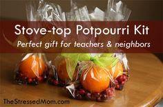 Stovetop potpourri kits - The Stressed Mom