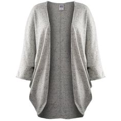 Vero Moda Joanna Cardigan (£35) found on Polyvore featuring tops, cardigans, open front cardigan, vero moda, slouchy tops and slouchy cardigan