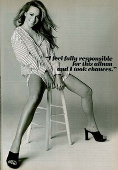 Mariah Carey December 1997 Cosmopolitan shoot