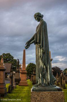 Accrington Cemetery, Lancashire, England. 8th July 2014.