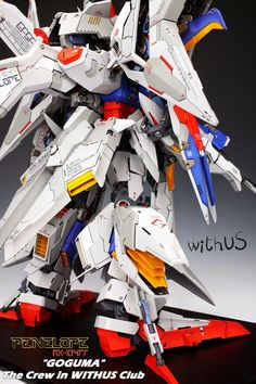 GUNDAM GUY: G-System 1/72 RX-104FF Penelope Gundam - Painted Build w/ LEDs