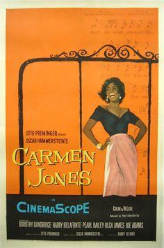 Carmen Jones movie poster (1954)