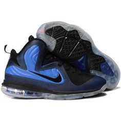 super popular 4c99e 68685 Lebron 9 Shoes Lebrons IX ID Foamposite Orlando Midnight Navy Black Blue