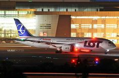 LOT Polish Airlines Boeing 787-8 Dreamliner; operating on behalf of Air Europa during that airline's fleet issues, as denoted by the Air Europa titles on the rear fuselage