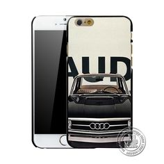 Audi Black Elegant phone case cover for iphone 4 4s 5 5s 6 6 plus