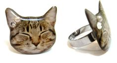 Moderncat Etsy Find: Resin Cat Jewelry and Charms From Faz Jewelry | moderncat :: cat products, cat toys, cat furniture, and more…all with modern style