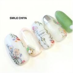 Nail art Christmas - the festive spirit on the nails. Over 70 creative ideas and tutorials - My Nails Trendy Nails, Cute Nails, My Nails, Nail Designs Spring, Cool Nail Designs, Spring Nails, Summer Nails, Japanese Nail Art, Painted Nail Art