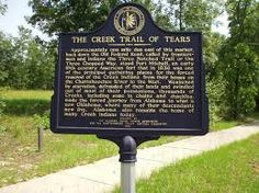 Creek Nation Trail of Tears