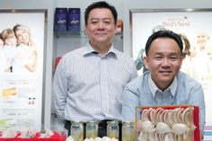 Exploring vast opportunities: Tan Chee Hong (left) and Loke Yeu Loong of Swiftlet Eco Park Group agree that the way forward in the edible bird's nest industry is to move up the value chain rather than compete on volume.