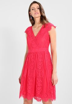 Esprit Collection LOVELY - Sukienka koktajlowa - pink fuchsia - Zalando.pl Fuchsia, Pink, Short Sleeve Dresses, Dresses With Sleeves, Collection, Fashion, Evening Dresses, Dress Ideas, Fashion Ideas