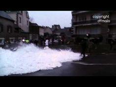 Grande marée Saint-Malo 2015 Journaliste de BFMTV surprise par une gross...