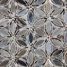 Flapper Floral - Artistic Tile