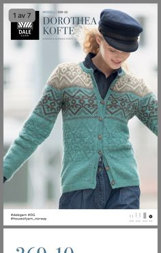 Bilderesultater for dale garn dorothea Fair Isle Knitting, Hand Knitting, Etnic Pattern, What Is Fashion, Types Of Women, Drops Design, Knit Jacket, Clothing Patterns, Mantel