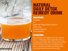 Next1 of 3Detoxing with various beverages is a great way to help give your body the nutrients it's really craving!You can give your digestive system a break from having to break down and digest food. We made a listof detox drinks for you that can be incorporated into anydetox programyou're